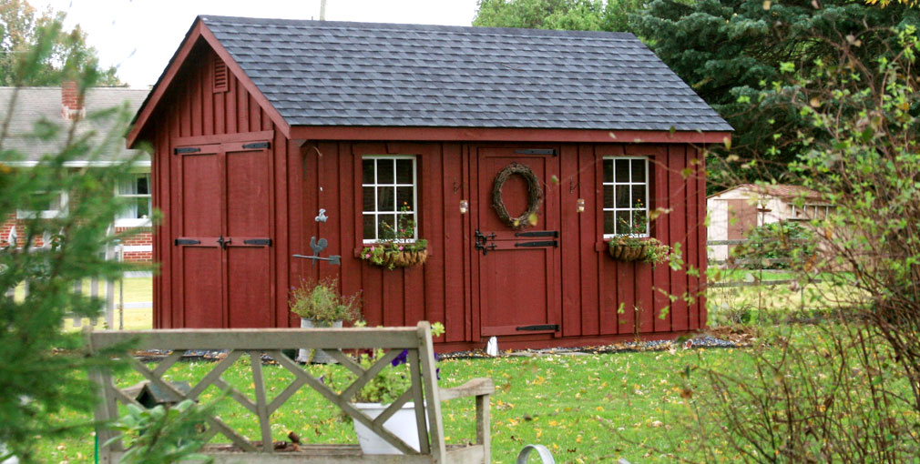 The Best Amish Made Sheds from Lancaster, PA   Riehl Structures